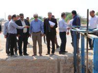 بررسی مشکلات کشاورزان روستاهای حوزه کرخه جنوبی توسط شرکت آبیاری کرخه و شاوور