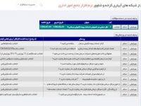 راه اندازی نرم افزار اداری تحت وب، در شرکت بهره برداری از شبکه های آبیاری کرخه وشاوور