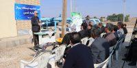 ایستگاه پمپاژ آبیاری قدس توسط شرکت کرخه و شاوور آماده بهره برداری گردید۲