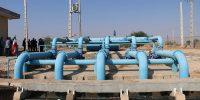 ایستگاه پمپاژ آبیاری قدس توسط شرکت کرخه و شاوور آماده بهره برداری گردید۵