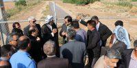ایستگاه پمپاژ آبیاری قدس توسط شرکت کرخه و شاوور آماده بهره برداری گردید۶