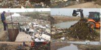 پاکسازی اسپیل های خروجی نهر لشکرآباد در حوزه مرکزی واقع در محدوده شهری