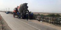 پایان عملیات ایمن سازی پل پاسارگاد در حوزه آبادان و اروند کنار