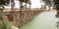 رفع نشتی آب در سد انحرافی کرخه۳