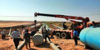 جمع آوری موتور تلمبه های غیرمجاز در محدوده کانال چمران ۲