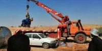 جمع آوری موتور تلمبه های غیرمجاز در محدوده کانال چمران ۶
