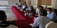 نشست نمایندگان کشاورزان حوزه مرکزی با مدیرعامل۱۰