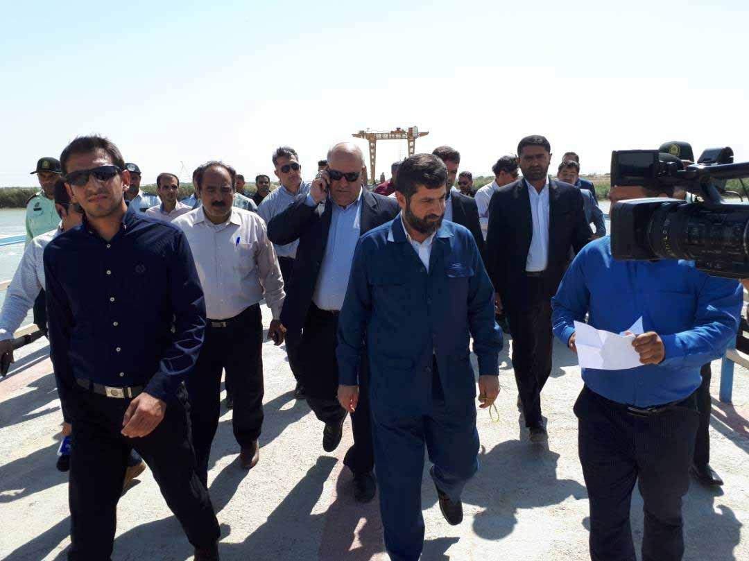 بازدید استاندار خوزستان از مارد